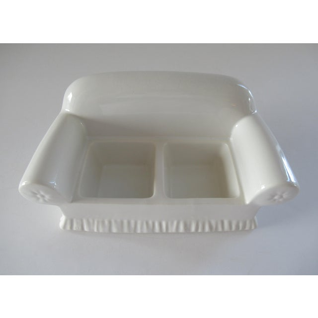 Vintage Donghia for Toscany Ceramic Sofa Keepsake Box For Sale In West Palm - Image 6 of 13