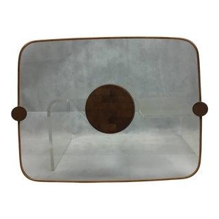 1960s Earnest Sohn Siamese Teak Serving Tray For Sale