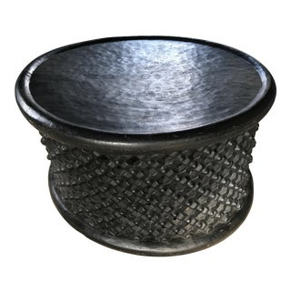 African Bamileke Cocktail Table or Spider Stool For Sale