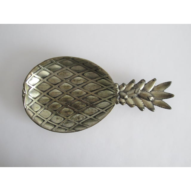 Silver-Plated Pineapple Catchall - Image 2 of 5