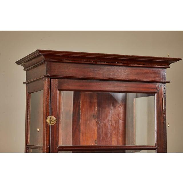 Wood 20th C. Sri Lankan Single Door Display Cabinet For Sale - Image 7 of 10