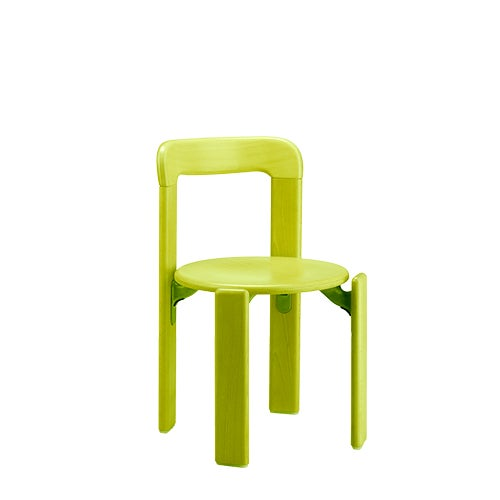 2010s Dietiker Rey Jr Arik Levy Soft Acid Color Green Chair For Sale - Image 5 of 6