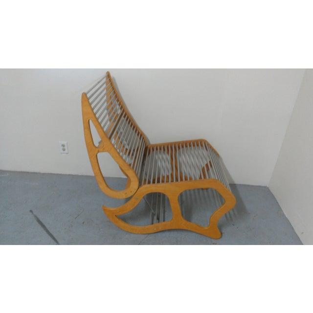 Mid-Century Modern Abstract Chair - Image 4 of 8