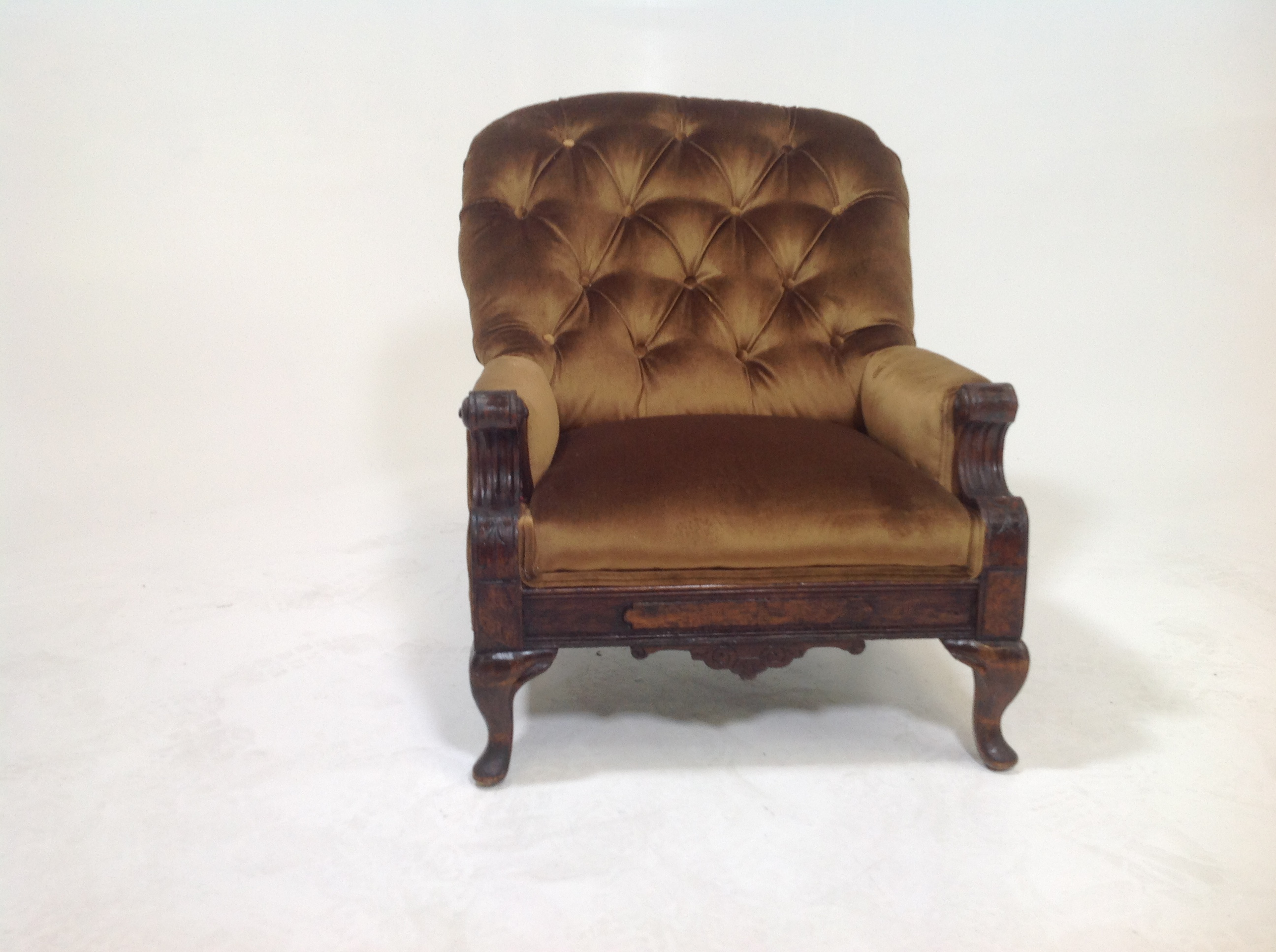 Antique Victorian Parlor Chair   Image 7 Of 7