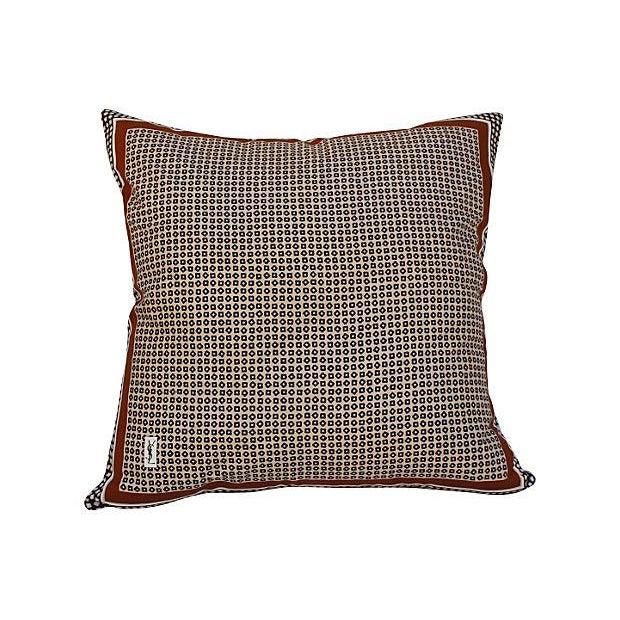 Yves Saint Laurent YSL 1970s Silk Scarf Pillow - Image 5 of 5