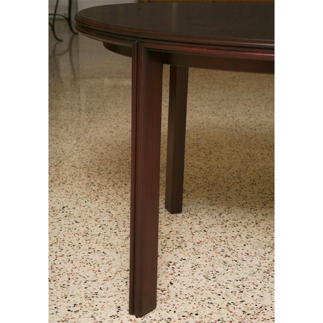 WorldClass Streamline Moderne Paul Frankl Leaves Oval Dining - Dining table with 3 leaves