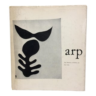 1957 Jean Arp Book MoMA Book For Sale
