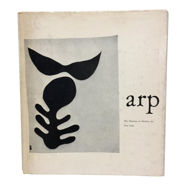 1957 Jean Arp Book MoMA Book For Sale