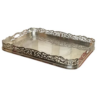 19th Century English Sheffield Serving Tray For Sale