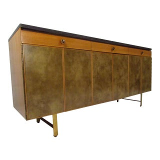 Paul McCobb for Calvin Group Travertine Sideboard For Sale