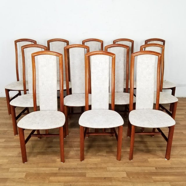 Mid-Century Danish Dining Chairs- Set of 12 For Sale - Image 4 of 12