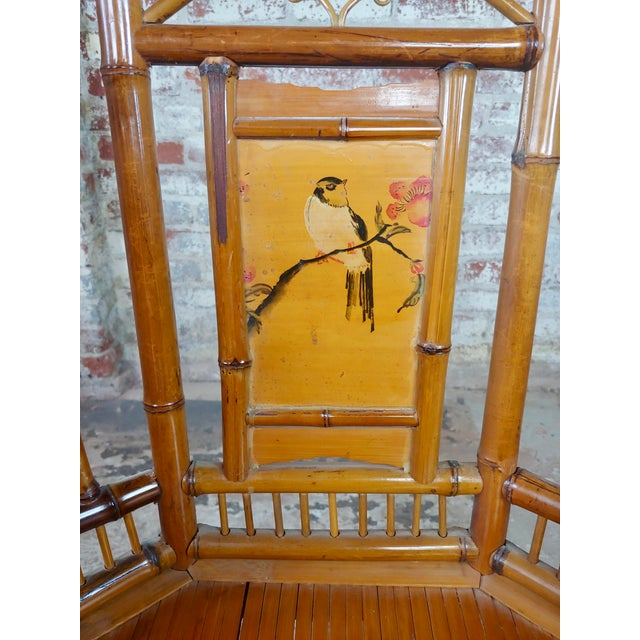 Brighton Pavilion Chinoiserie Chippendale Bamboo Armchairs Circa 1920s - A Pair For Sale In Los Angeles - Image 6 of 10