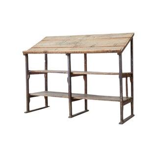 Rustic Barnwood Pine Three Shelf Display Étagère For Sale