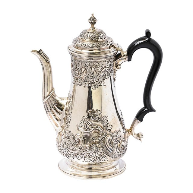 Antique English Sheffield Coffee Pot For Sale - Image 9 of 9