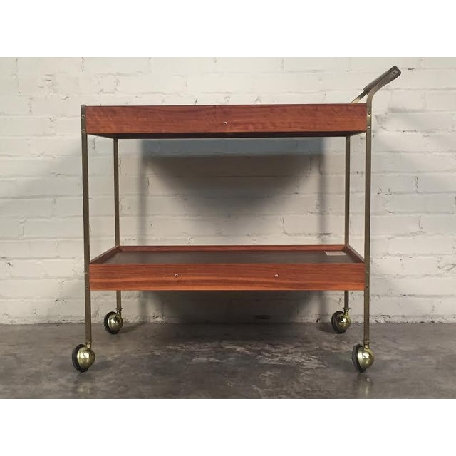 Mid-Century Modern Salton Hot Tray Cart For Sale In Saint Louis - Image 6 of 9