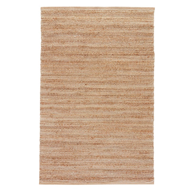 Jaipur Living Canterbury Natural Solid Tan/ White Area Rug - 9′6″ × 13′6″ For Sale