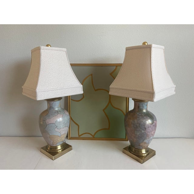 1960s Frederick Cooper Lamps & Shades - a Pair For Sale - Image 6 of 9