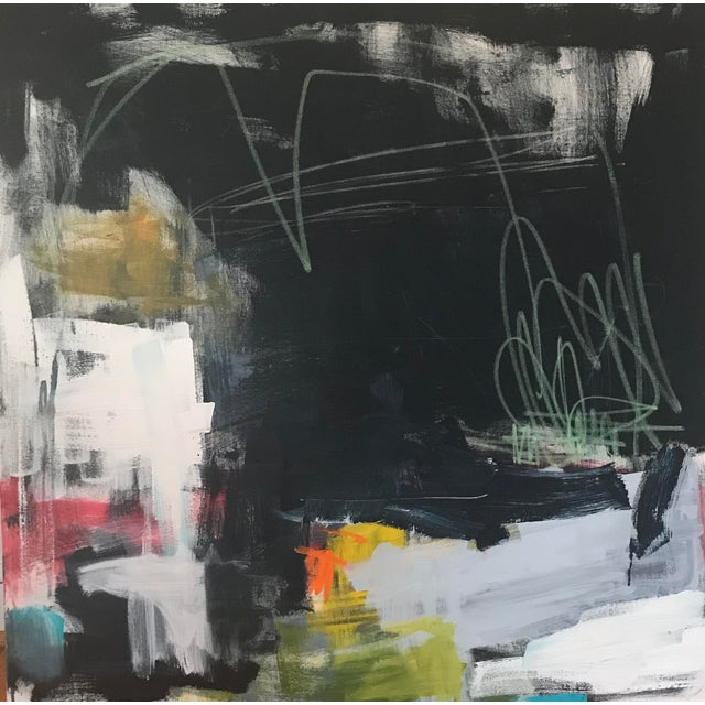 """Sarah Trundle """"Westward Ho"""" Contemporary Abstract Painting For Sale"""