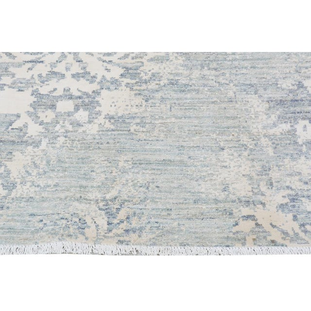 2010s Kafkaz Peshawar Cole Gray & Ivory Wool Rug - 8'1 X 11'7 For Sale - Image 5 of 7