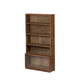 1930's Vintage Minty From Oxford University Bookcase For Sale