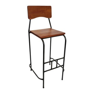 Toka Stained Bar Stool For Sale
