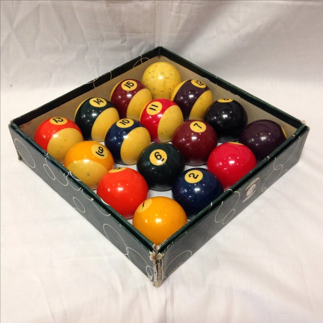 Vintage Belgian Aramith Billiard Pool Balls - Image 2 of 6
