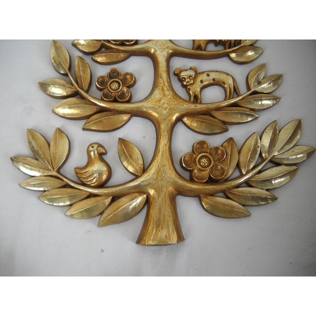 """Syroco Vintage """"Tree of Life"""" Plaque - Image 6 of 8"""