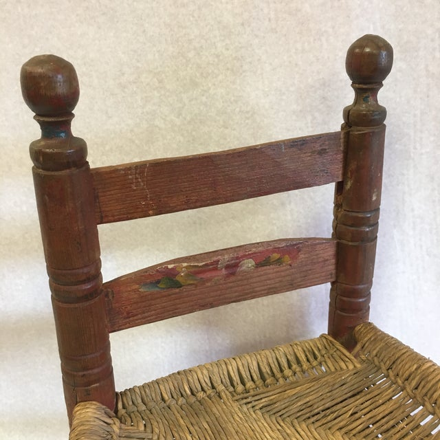 Antique Child's Chair For Sale - Image 4 of 8 - Antique Child's Chair Chairish