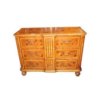 1940s Inlaid Italian Commode For Sale