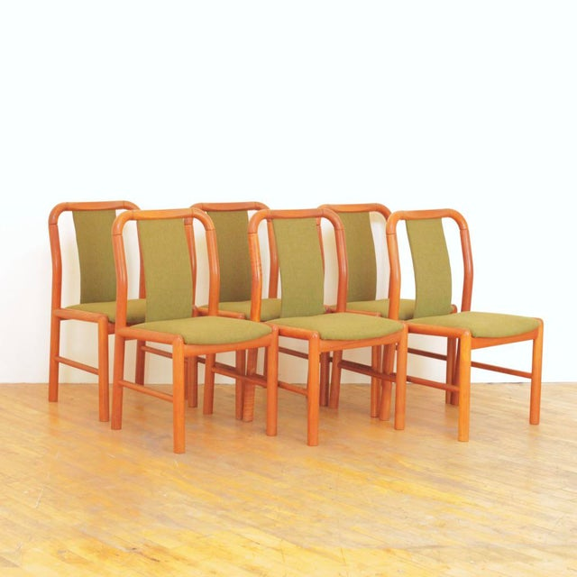 1960s Vintage Danish Teak Dining Chairs - Set of 6 For Sale - Image 11 of 11