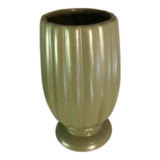 Vintage McCoy Sage Pottery Vase