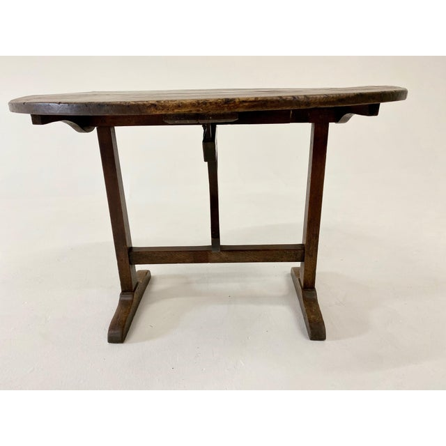 18th C. French Vendage Table For Sale - Image 4 of 11