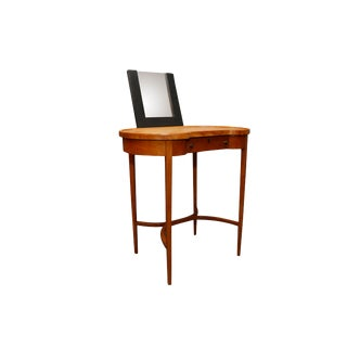 Mid Century Small Make -Up Desk or Small Console for an Entryway For Sale