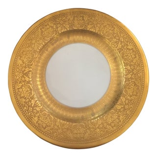 Thomas of Bavaria Gold Encrusted Plates - Set of 10