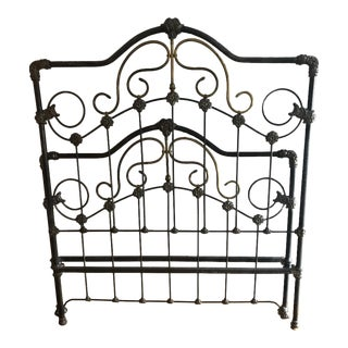 Cast Iron Bed Frame For Sale