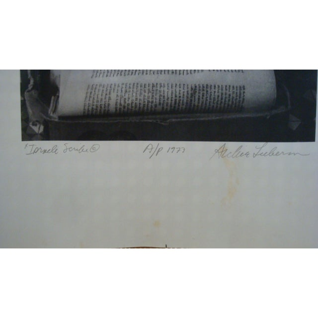 Israeli Scribe Photograph by Archie Lieberman For Sale - Image 4 of 5