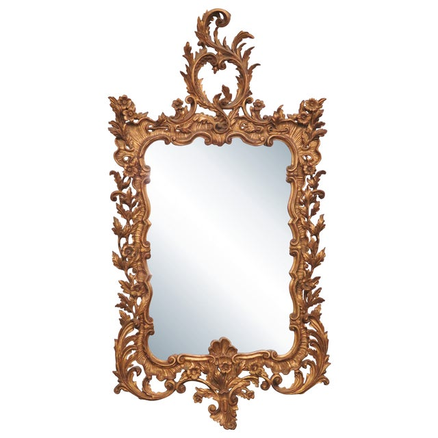 Italian Gilt Carved Wall Mirror - Image 1 of 6