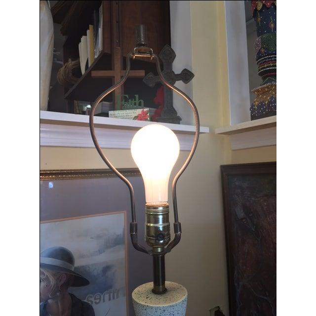 Mid Century Modern Lamp & Original Shade - Image 8 of 9