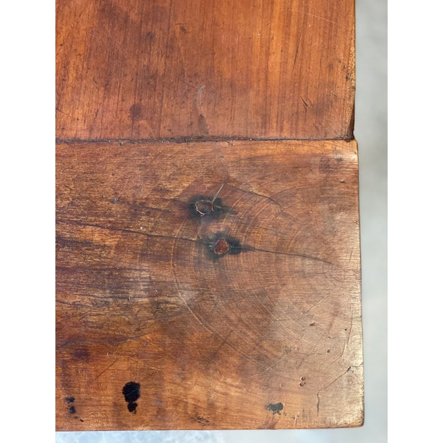 1800's Primitive French Dining/Work Table/Console For Sale - Image 10 of 13