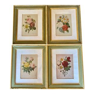 Trowbridge Gallery Botanical Prints - Set of 4 For Sale