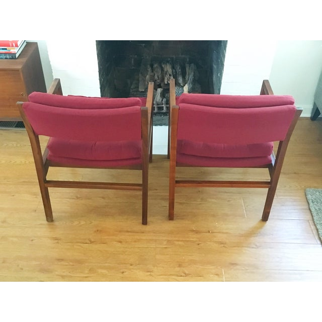 Mid-Century Side / Accent Chairs - Pair - Image 5 of 11