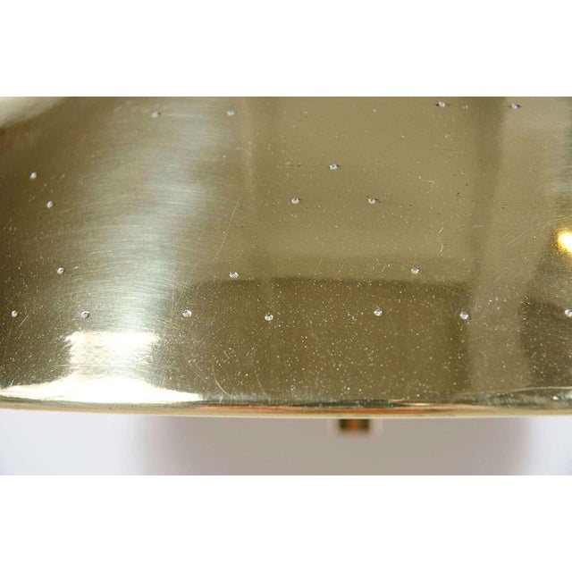 Brass Finlandia Brass Counter-Weight Pendant after Paavo Tynell for Litecraft Mfg Corp For Sale - Image 7 of 9