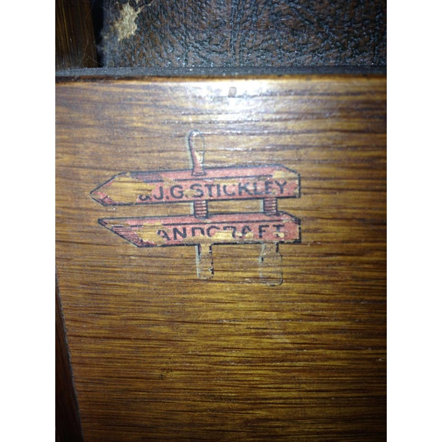 Early 20th-C. Stickley Dining Armchair - Image 4 of 5