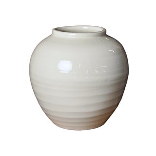 White Ceramic Milk Pottery For Sale