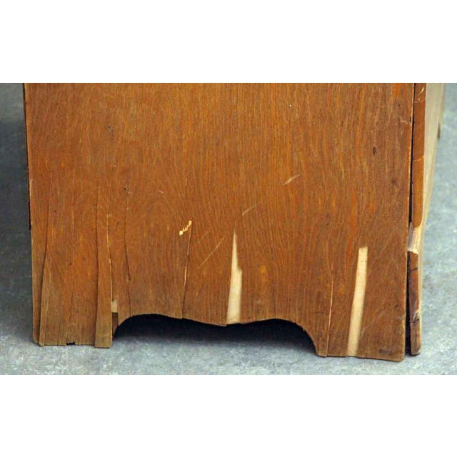 1940s 1940s Four-Drawer Maple Wood Dresser For Sale - Image 5 of 9