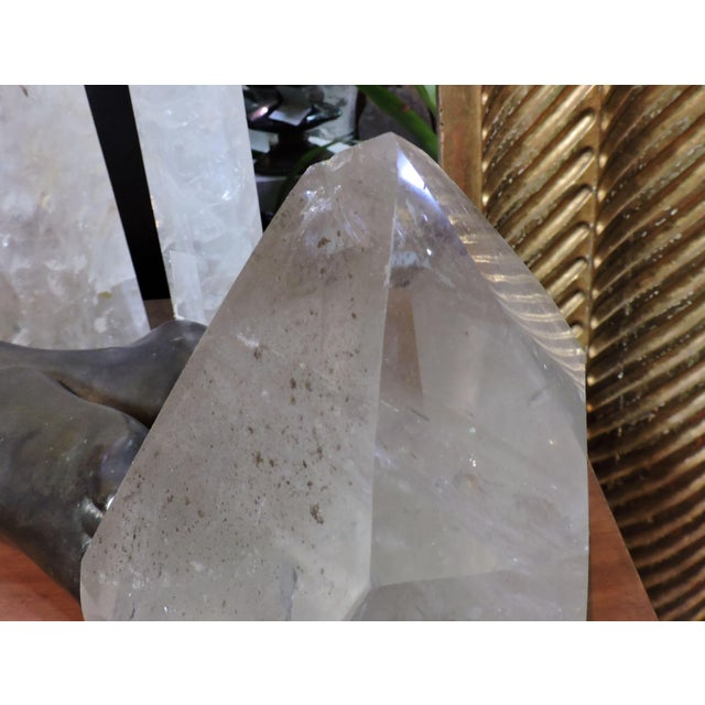 Anonymous Large Green Quartz Point For Sale - Image 4 of 6