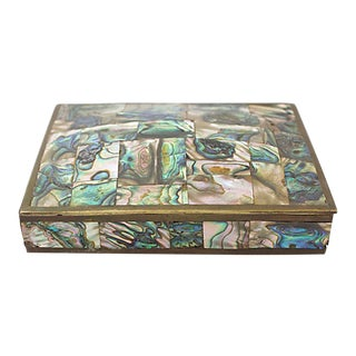 Abalone Inlay Box For Sale