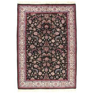 Pasargad NY Persian Kashan Design Rug - 6′1″ × 8′9″ For Sale