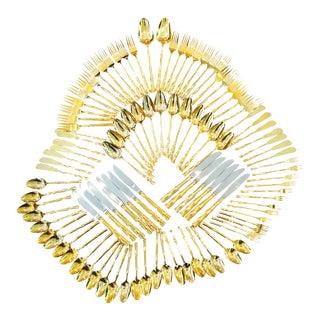 Gold Supreme Vermeil Flatware For Sale