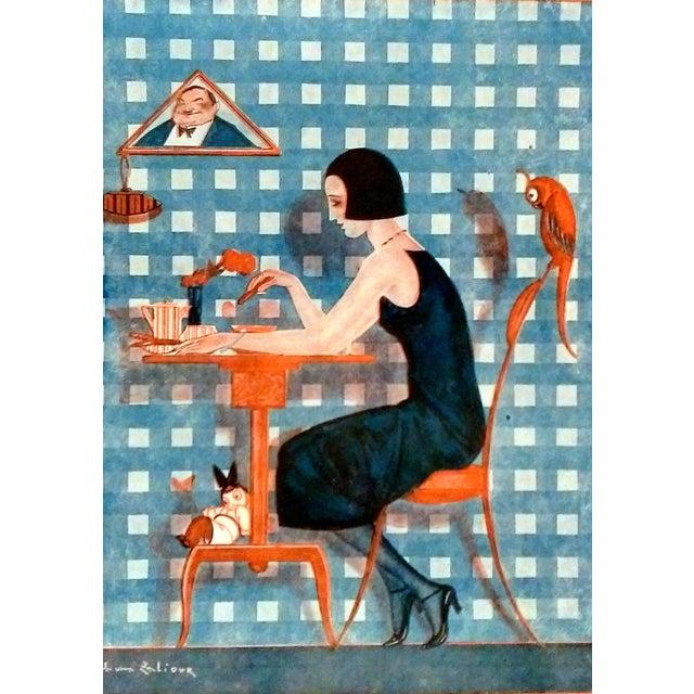 "1922 Fantasio ""Kiki et Coco"" Print by Sacha Zaliouk - Image 4 of 4"